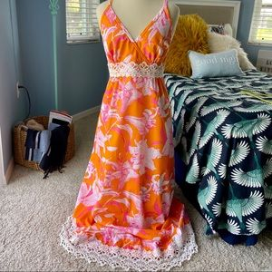 """Vintage """"The Lilly"""" Lilly Pulitzer Maxi Dress"""